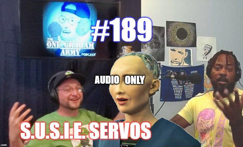 #189 – S.U.S.I.E. Servos