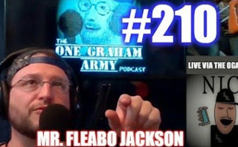 #210 – Mr Fleabo Jackson