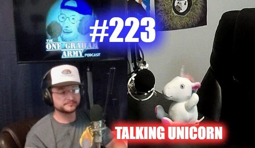 #223 – Talking Unicorn