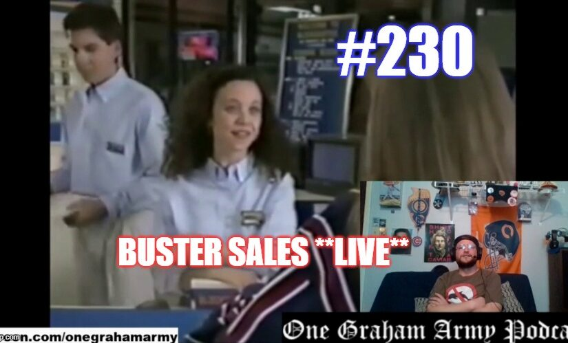 #230 – Buster Sales *Live*